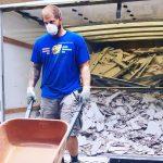 debris removal & light demo